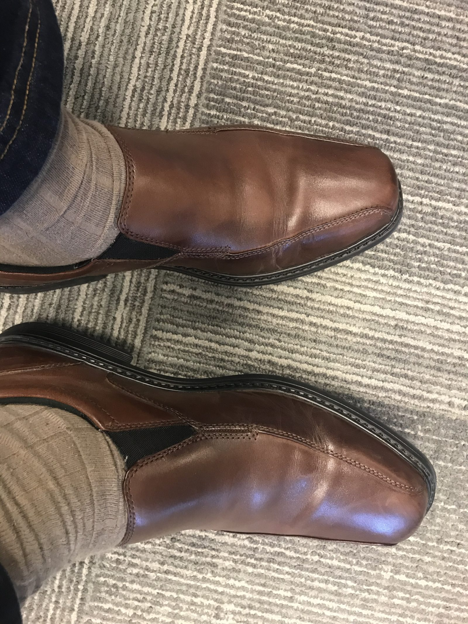 new brown dress shoes