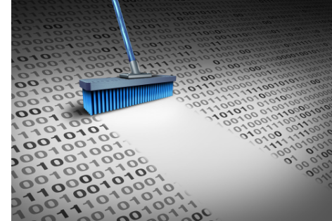 brush cleaning up data